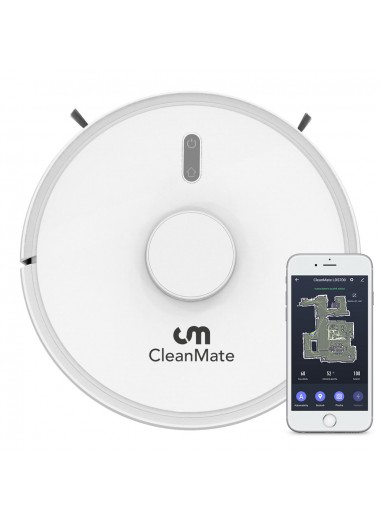 CleanMate QQ-6 Robotic Vacuum Cleaner WHITE