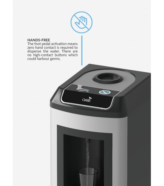 Water dispenser Kalix UF with foot switch