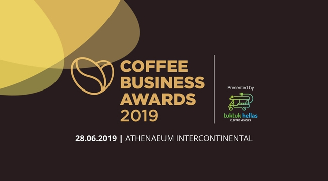 The award of the Wellness Stores at the Coffee Business Awards 2019